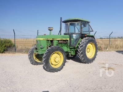 1984 JOHN DEERE 3140DT 4WD MFWD Tractor
