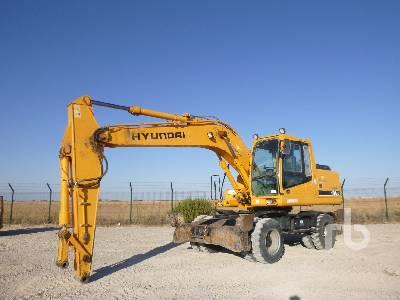 2006 HYUNDAI ROBEX 170W-7 Mobile Excavator