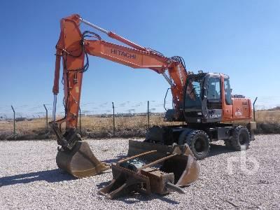 2007 HITACHI ZX160W Mobile Excavator