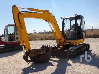 2002 JCB 8060 Midi Excavator (5 - 9.9 Tons)