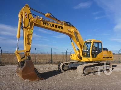 2002 HYUNDAI ROBEX 250LC-3 Hydraulic Excavator