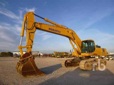 2003 KOMATSU PC450-6K Hydraulic Excavator
