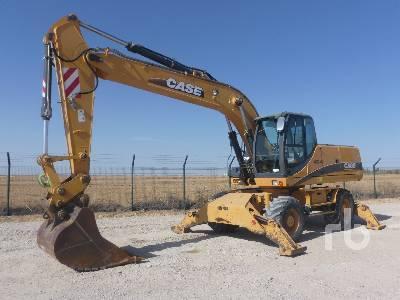 2005 CASE WX210 Mobile Excavator