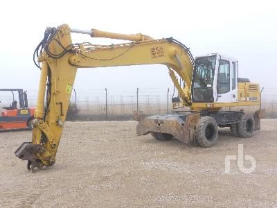 1998 LIEBHERR A914 4x4 Mobile Excavator