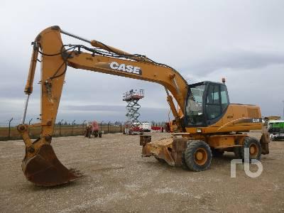 2008 CASE WX210 Mobile Excavator