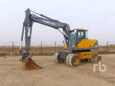2002 VOLVO EW140 4x4 Mobile Excavator