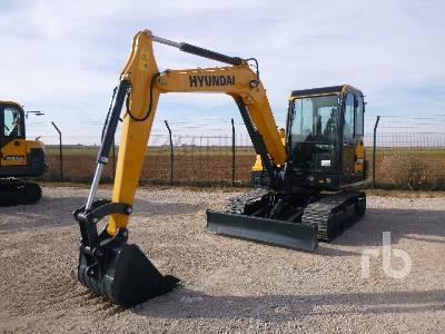 2020 HYUNDAI HX55N Midi Excavator (5 - 9.9 Tons)