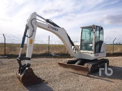 2013 TEREX TC60 Midi Excavator (5 - 9.9 Tons)