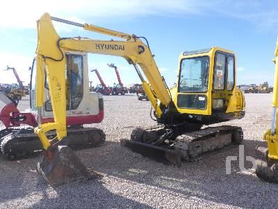 2010 HYUNDAI R55-7 Midi Excavator (5 - 9.9 Tons)