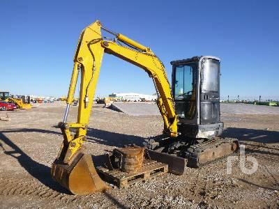 2008 NEW HOLLAND E35.2C Mini Excavator (1 - 4.9 Tons)