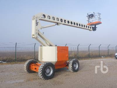 1992 GROVE AMZ66XT 4x4x4 Articulated Boom Lift