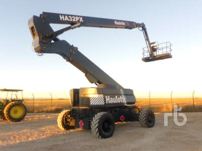 2005 HAULOTTE HA32PX 4x4x4 Articulated Boom Lift