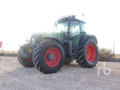 2005 FENDT FAVORIT 716 Vario MFWD Tractor
