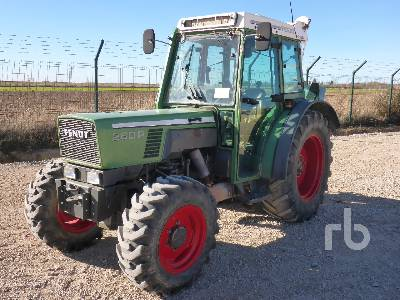 2000 FENDT FARMER 280 4WD MFWD Tractor