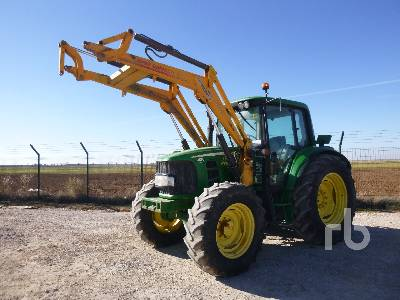 2008 JOHN DEERE 6430 MFWD Tractor