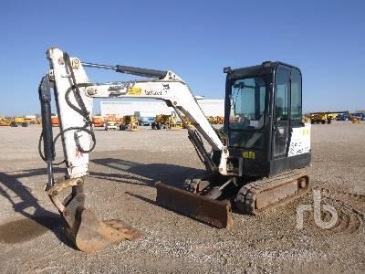 BOBCAT 331E Mini Excavator (1 - 4.9 Tons)