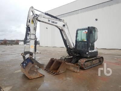 2010 BOBCAT E60 Midi Excavator (5 - 9.9 Tons)