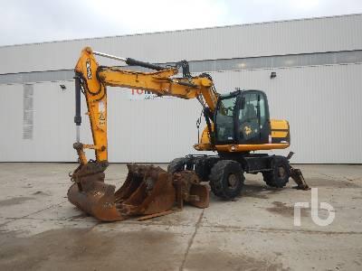 2010 JCB JS145W Mobile Excavator