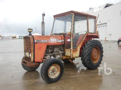 1978 MASSEY FERGUSON MF265 4WD Agricultural Tractor MFWD Tractor