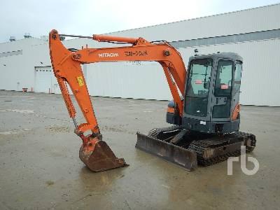 HITACHI ZX55UR Midi Excavator (5 - 9.9 Tons)