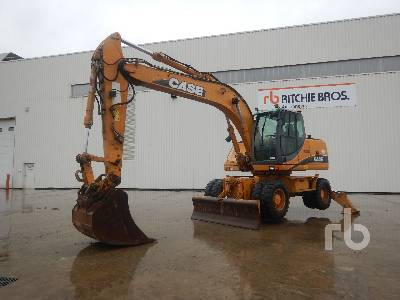 2005 CASE WX185 Mobile Excavator