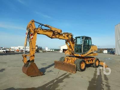 2005 CASE WX145 Mobile Excavator