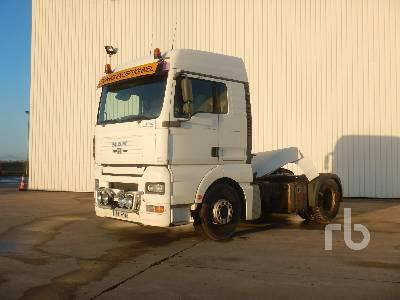 2006 MAN TGA18.430 Sleeper Truck Tractor (S/A)