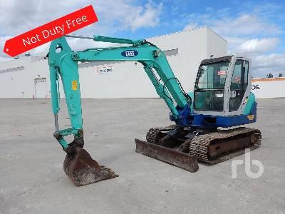 2010 IHI 55N2 Midi Excavator (5 - 9.9 Tons)