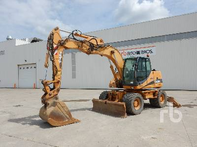 CASE WX145 Mobile Excavator
