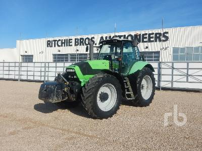 2011 DEUTZ-FAHR AGROTRON M650 4WD Agricultural Tractor MFWD Tractor