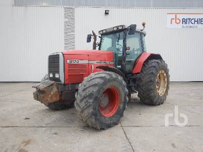 MASSEY FERGUSON 8170 Tracteur 4WD Agricultural Tractor MFWD Tractor