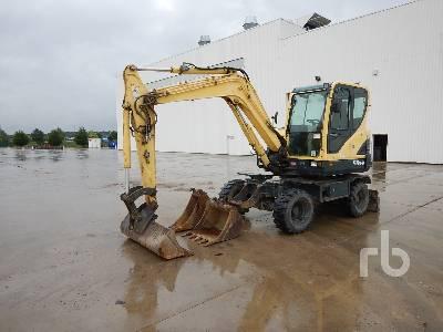 2011 HYUNDAI R55W9 Mobile Excavator