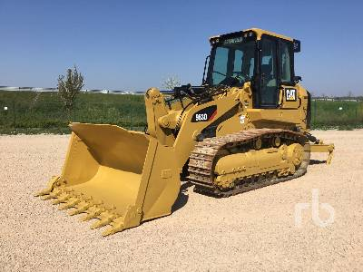 2010 CAT 963D Crawler Loader