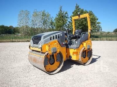 2012 HAMM HD14VV Compacteur Vibrant Tandem Tandem Vibratory Roller