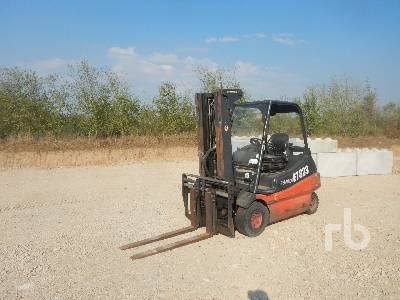 2009 FENWICK-LINDE E30/02 Electric Electric Forklift