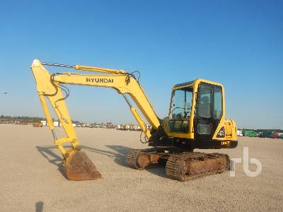 2008 HYUNDAI R55-7 Midi-Pelle Midi Excavator (5 - 9.9 Tons)