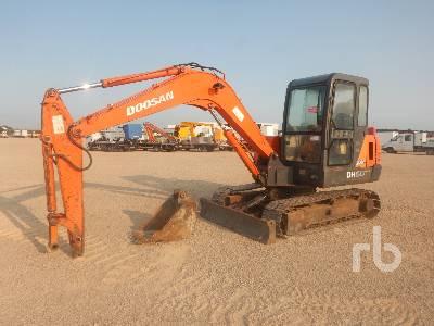 2010 DOOSAN DH55-V Midi Excavator (5 - 9.9 Tons)
