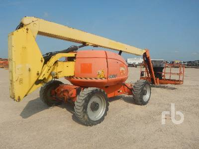 2008 JLG 600AJ 4x4x4 Articulated Boom Lift