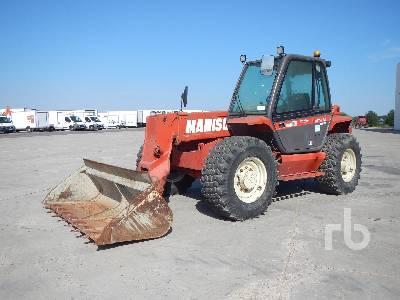 MANITOU MT835 3500 Kg 4x4x4 Telescopic Forklift