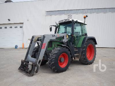 2001 FENDT FARMER 410 Vario 4WD Agricultural Tractor MFWD Tractor