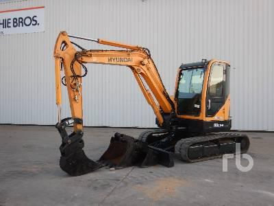 2013 HYUNDAI ROBEX 60CR-9 Midi-Pelle Midi Excavator (5 - 9.9 Tons)