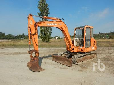 2002 DAEWOO SL55 Midi-Pelle Midi Excavator (5 - 9.9 Tons)