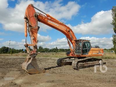 2009 DOOSAN DX420LC Pelle Sur Chenilles Hydraulic Excavator