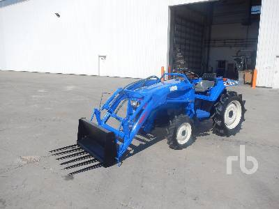ISEKI 205 4x4 Tracteur Utilitaire 4WD Utility Tractor