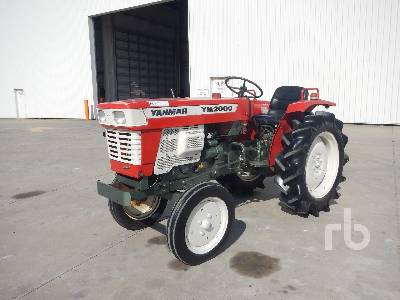 YANMAR YM2000A 4x2 Tracteur Utilitaire 2WD Utility Tractor