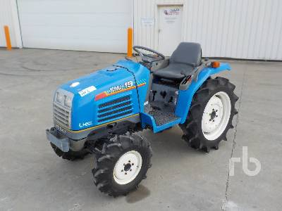 ISEKI SIAL 19 4x4 Tracteur Utilitaire 4WD Utility Tractor