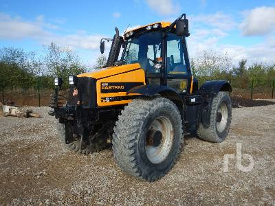 2005 JCB FASTRAC 2140 4WD Agricultural Tractor MFWD Tractor