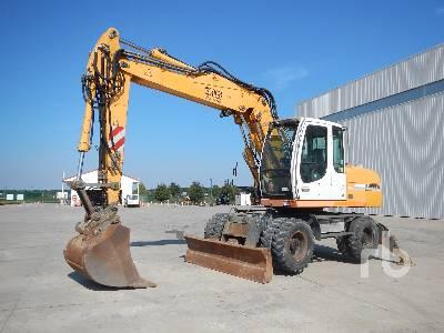 2005 LIEBHERR A316 Pelle Sur Pneus Litronic Mobile Excavator