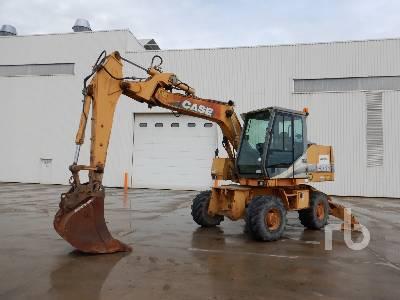 2001 CASE 788P Pelle Sur Pneus Mobile Excavator