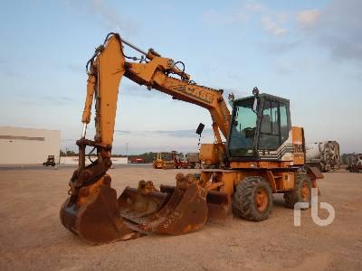 1999 CASE POCLAIN 788-PSU Pelle Sur Pneus Mobile Excavator